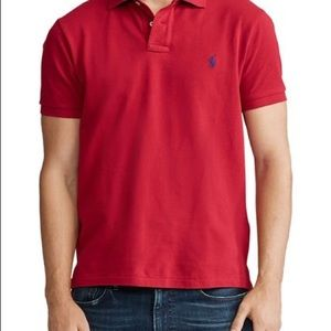 Polo by Ralph Lauren blue label mens medium red